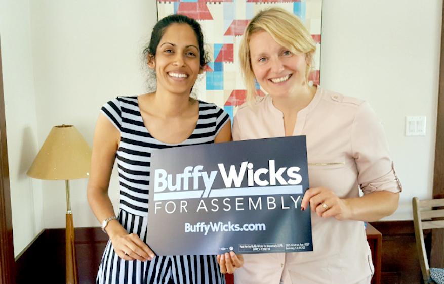 Buffy's next endorsement: Rashi Kesarwani