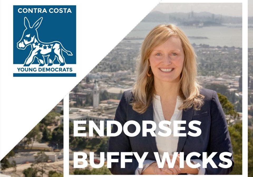 Contra Costa Young Democrats Endorse Buffy