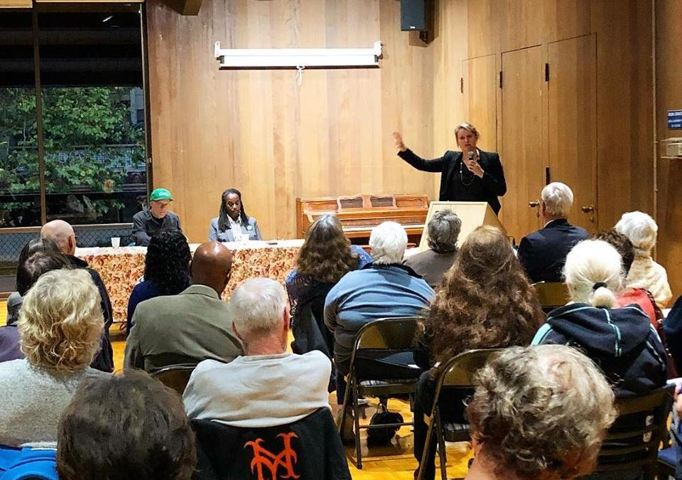 Watergate Community Association of Emeryville and League of Women Voters forum