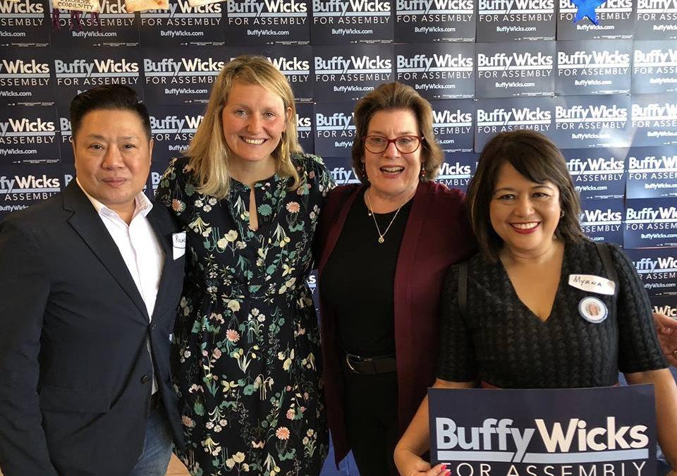 Hercules City Councilmember Roland Esquivias Endorses Buffy!